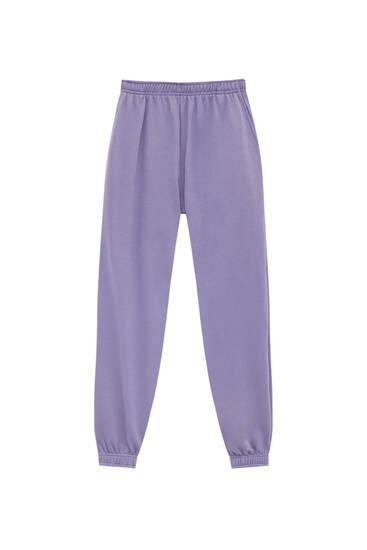 Pantalón jogger básico