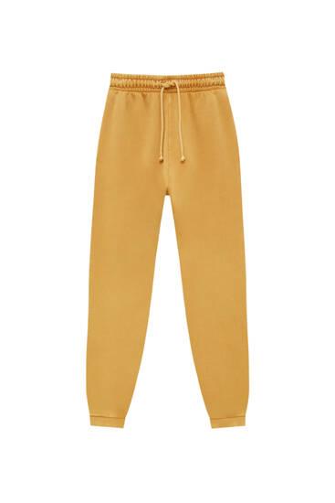 Pantalón jogger básico colores