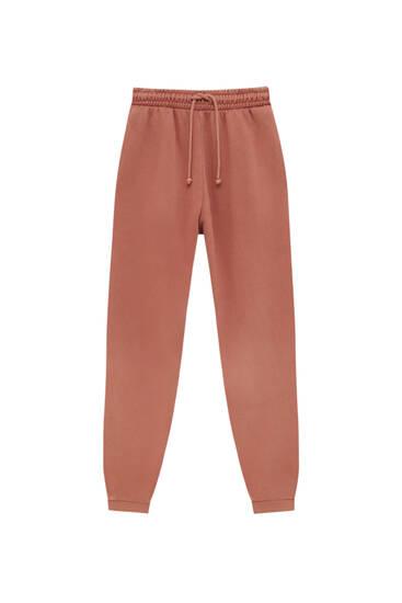 Pantalón jogger básico color
