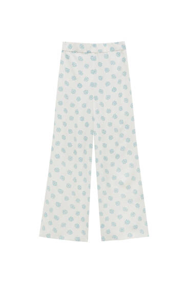 Culotte-Hose mit Sonnen
