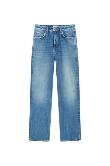 Jeans loose fit tiro bajo