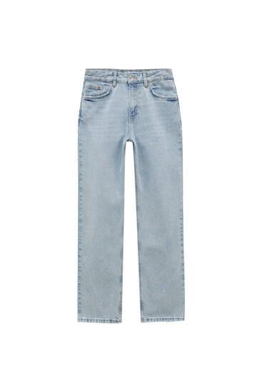 Jeans boyfriend tiro bajo