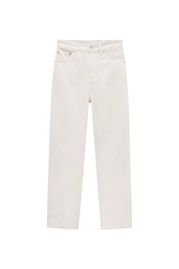 Basic mom fit jeans - biologisch katoen (ten minste 50%)