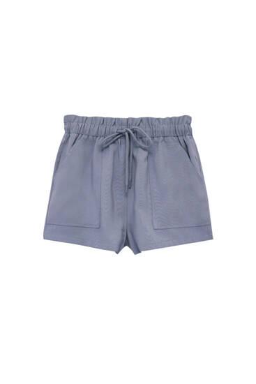 Bermuda basique poches