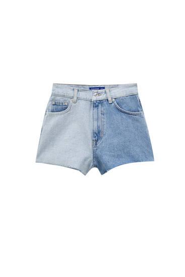 Space Jam denim shorts