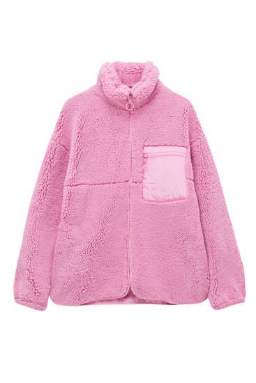 Базовая куртка из искусственной овчины