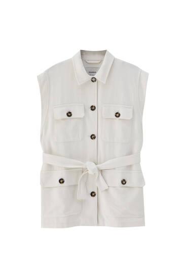 Rustic utility vest