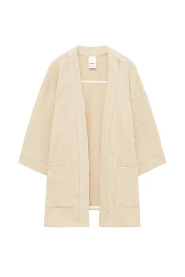 Kimono arena bolsillos