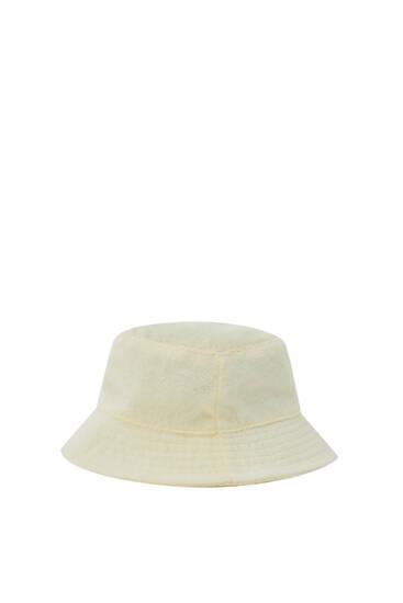 Pălărie pescărească din țesătură tip prosop