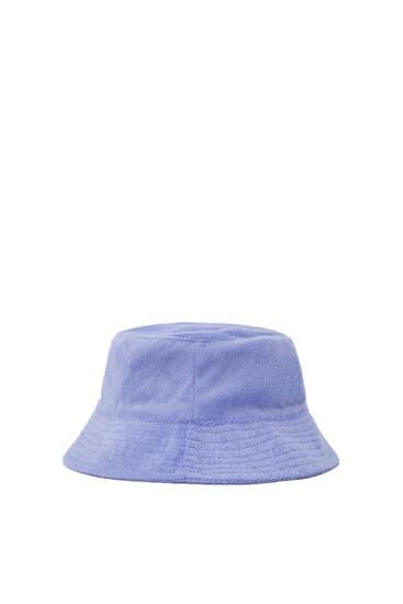 Καπέλο bucket από πετσετέ ύφασμα