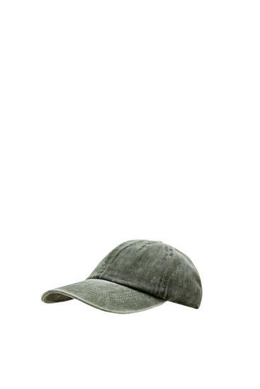Basic-Basecap im Washed-Look
