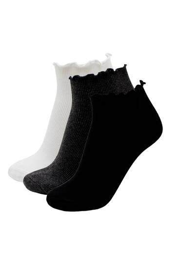 Σετ με ριμπ κάλτσες