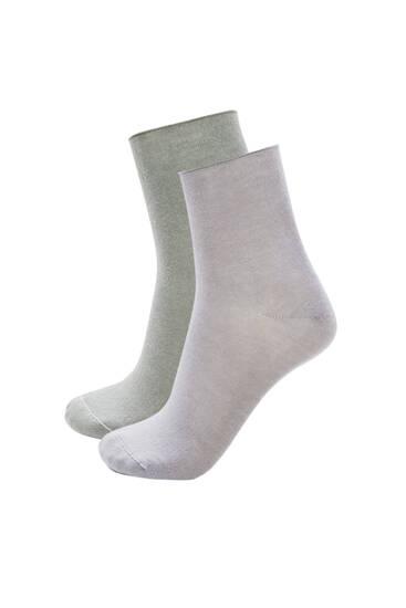 Pack calcetines tobilleros modal