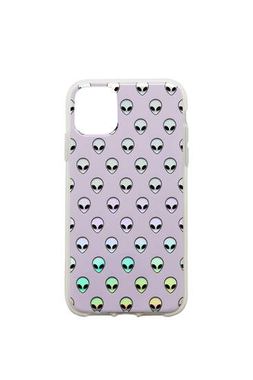 Alien smartphone case