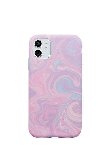 Marble-effect smartphone case