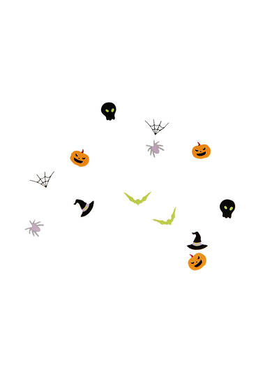 Pack of Halloween stickers