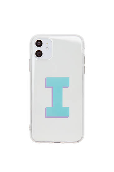 Initial smartphone case