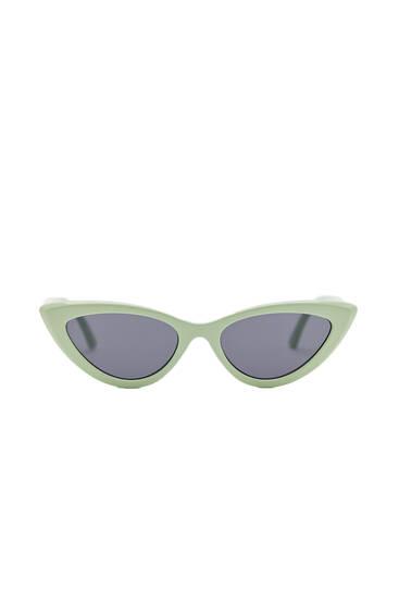 Gafas sol cat eye menta