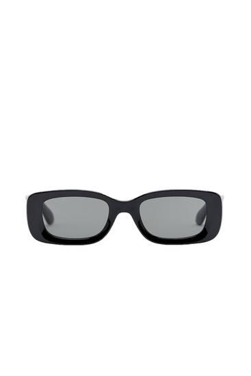 Basic rectangular sunglasses