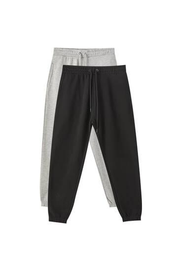 Pack pantalones jogging