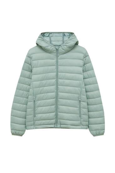 Bazična prošivena jakna od najlona