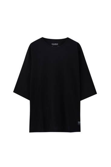 Camiseta loose fit básica