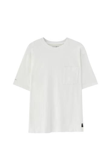 Premium-Oversize-Shirt mit Tasche