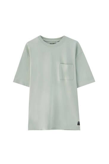 Oversize premium T-shirt with pocket