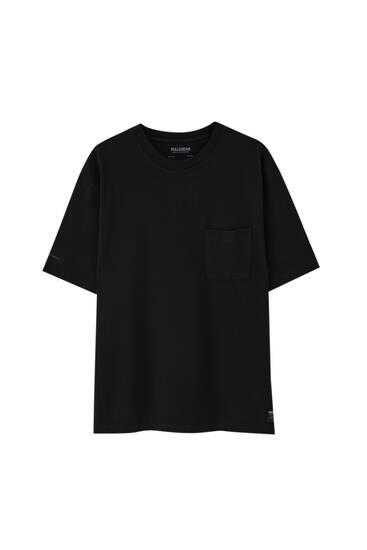 Camiseta oversize tejido premium