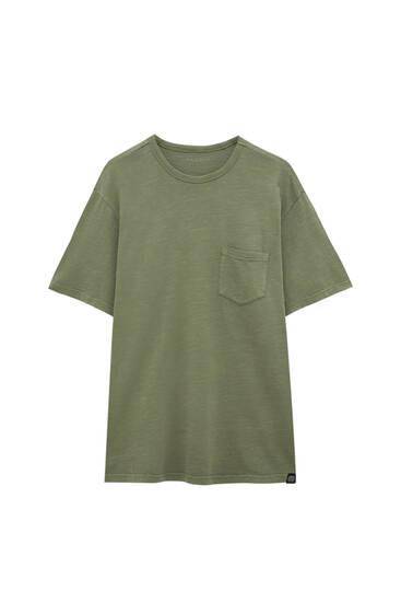 Regular garment dye T-shirt