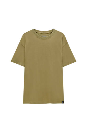 Relaxed fit premium fabric T-shirt