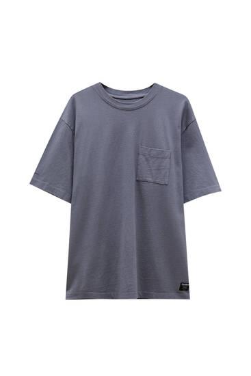 Basic oversize premium fabric T-shirt