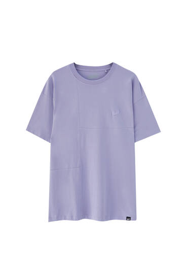 STWD logo panel T-shirt - ecologically grown cotton (at least 50%)