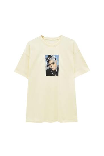 Yellow Tupac T-shirt