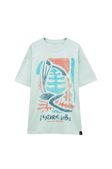 Natural Vibes T-shirt - ecologically grown cotton (at least 50%)
