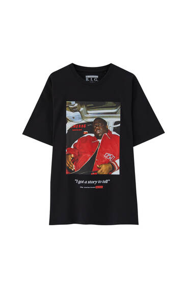 The Notorious B.I.G. slogan T-shirt