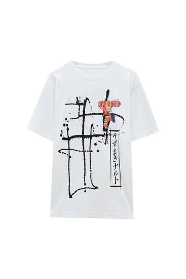 White Naruto T-shirt