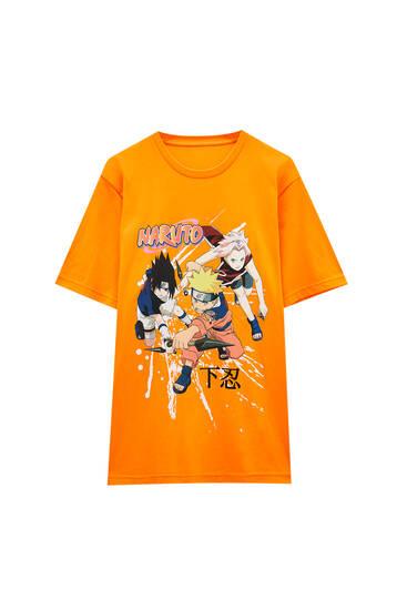 Orange Naruto T-shirt