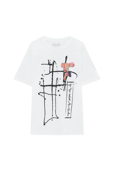 Біла футболка Naruto