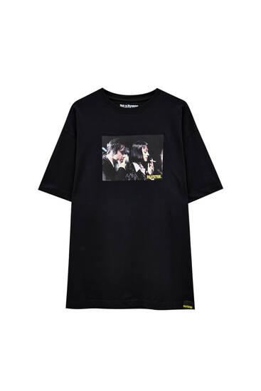 Чорна футболка Pulp Fiction