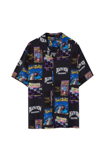 Black Death Row Records shirt