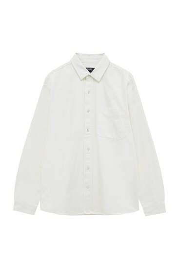 Camisa vaquera relaxed fit