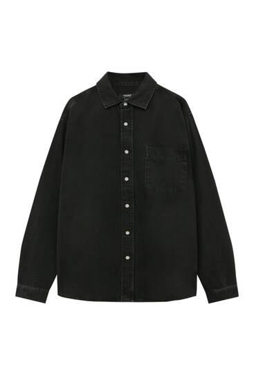 Teksas košulja opuštenog kroja