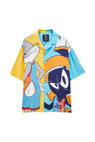 Space Jam character shirt -100% ECOVERO™ viscose