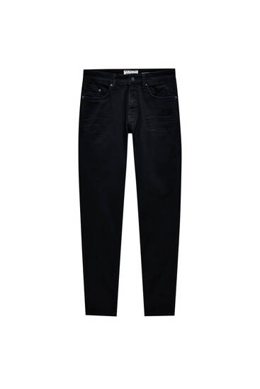 Jeans negros skinny fit