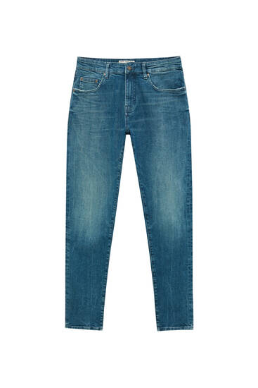 Basic faded skinny jeans