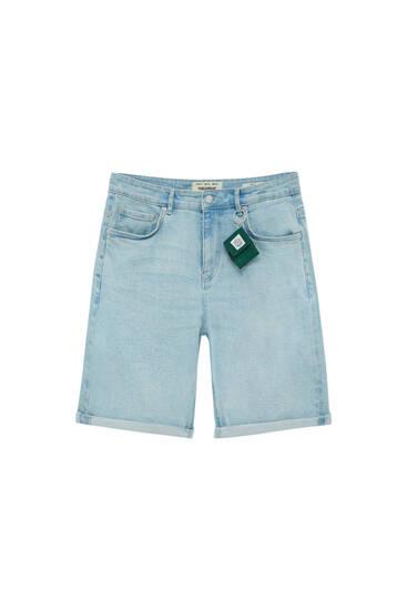 Базові джинсові шорти зручного вузького крою