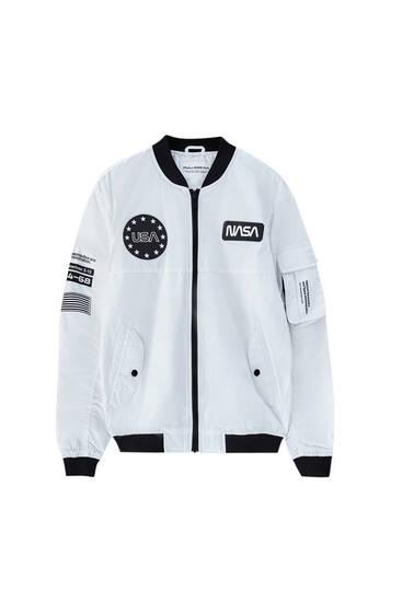 Lightweight NASA bomber jacket