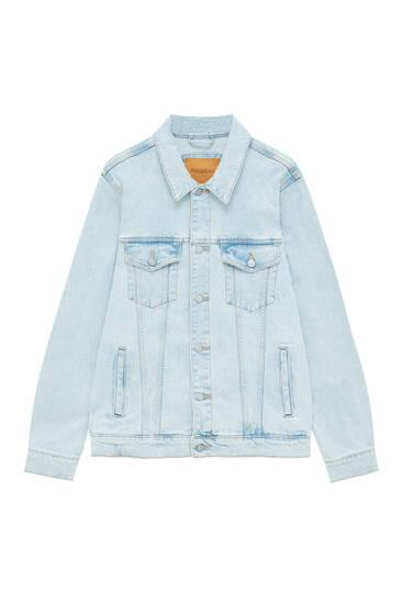 Basic comfort fit denim jacket