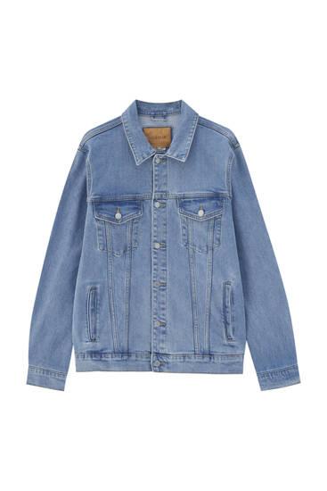 Базова джинсова куртка зручного крою